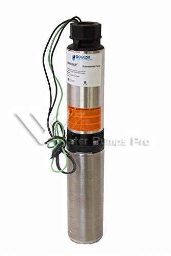 18sb15422c goulds 18gpm 1 5 hp 4 submersible water well for Well pump motor replacement