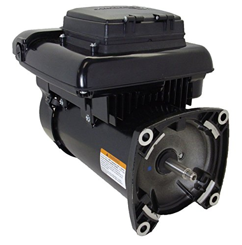 Variable speed ecm pool motor 1 2 hp 2 spd square flange for Square flange pool pump motor