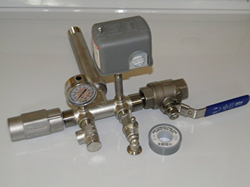 Stainless Steel 1 X 11 Tank Tee Kit Union Valves