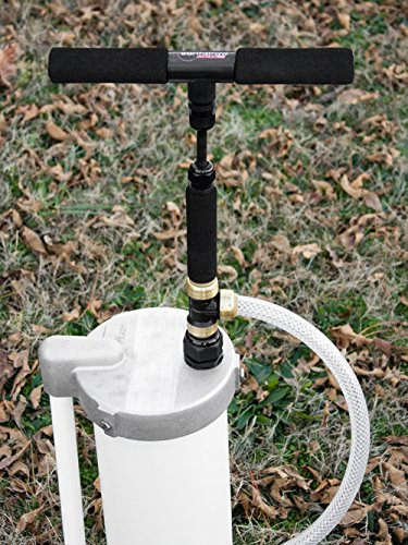 Earthstraw inch well cap with pump gripper pumps