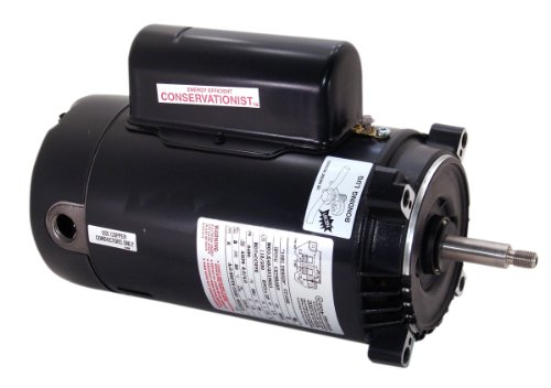 A.O. Smith ST1202 2 HP, 12.6-11.4 Amps, 1.3 Service Factor, 56J Frame, Capacitor Start/Capacitor Run, ODP Enclosure, C-Face Pool Motor