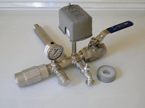 Pressure Switch Adjustment Water Pump Setup Well Pump Pressure